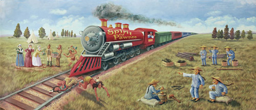 Spirit of Pawnee Mural
