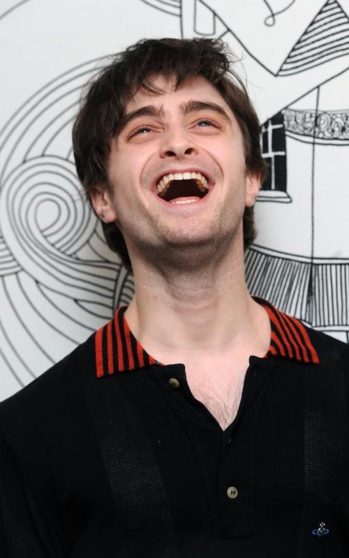 daniel radcliffe laugh harry potter