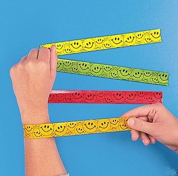 slap bracelets 90s fashion 80s fashion