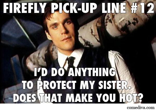 Firefly PickUp Line Simon Tam