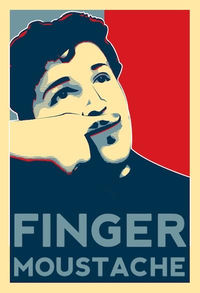 FingerMoustache1Aug