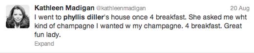KathleenMadigan_PhyllisDillerTweet