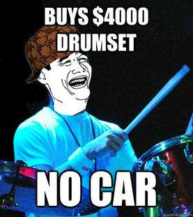 Never Date a Drummer
