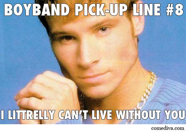 Brian Littrell PickUp Line