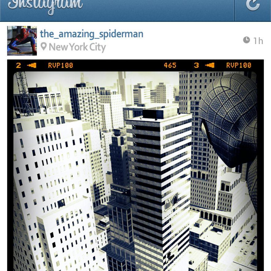 If Superheroes Had Instagram