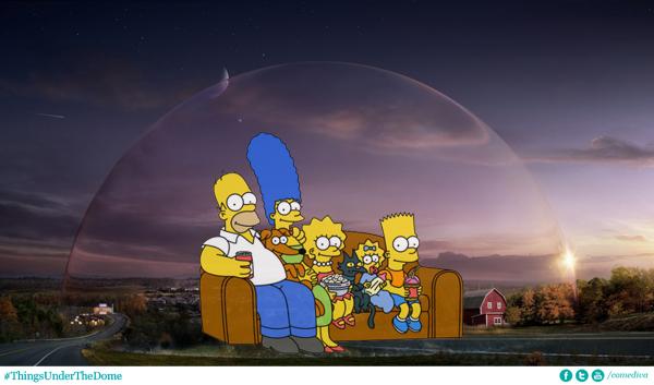 Under the Dome, M6, le jeudi à 20h50  Dome_Simpsons