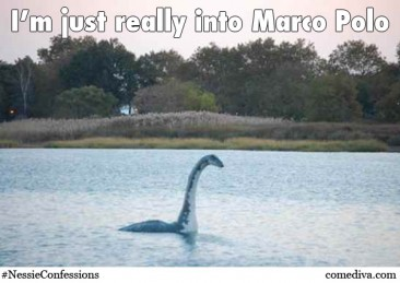 Confessions of the Loch Ness Monster