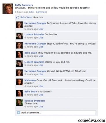 BAMF Facebook Statuses