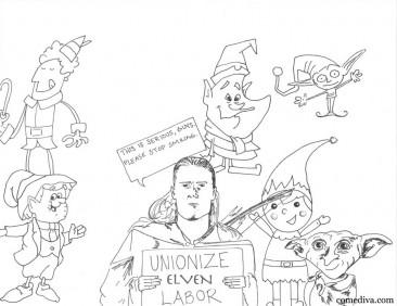 Legolas's Elf Labor Rights Movement