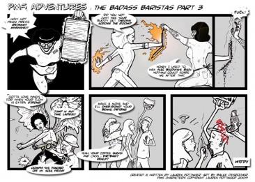 TEST TO SHOW ENLARGEMENT — PMS Adventures:  Badass Baristas, Part Three