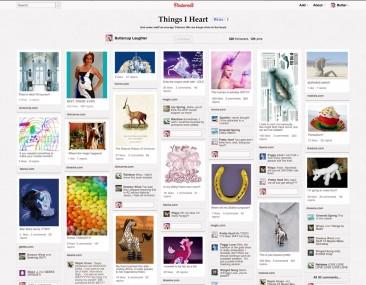 A Unicorn's Pinterest Page