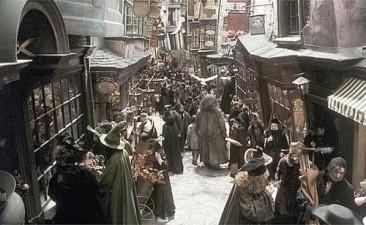 Amazon vs Diagon Alley