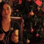 Happy Holidays from Katniss