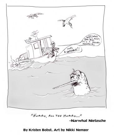 Narwhal Nietzsche: Human