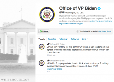 You Must Be Joking: @VP Joe Biden's on Twitter