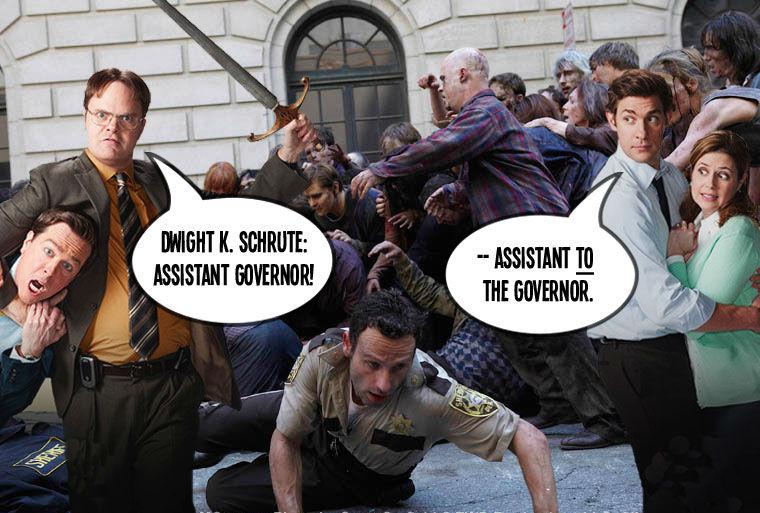Walking Dead The Office