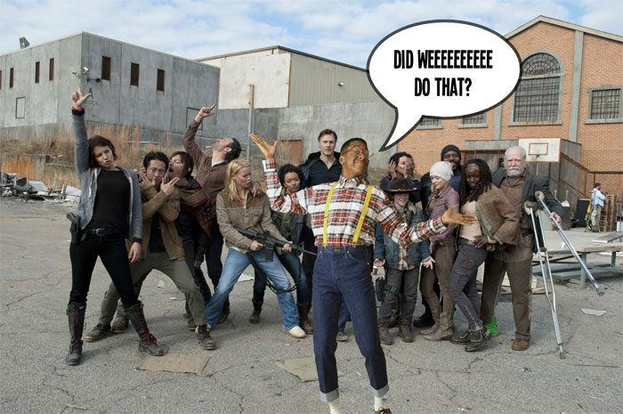 Walking Dead Urkel
