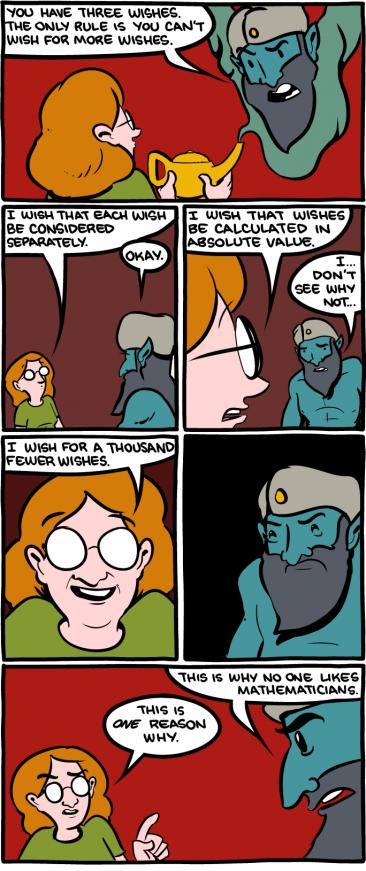 Why Genies Hate Math