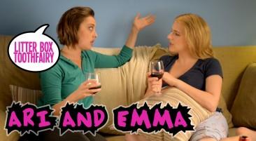 "Ari and Emma: ""FAKE HEBREW"""