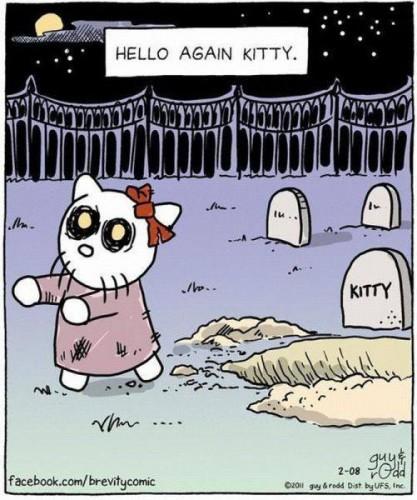 Funny-hello-again-kitty-halloween-cartoon