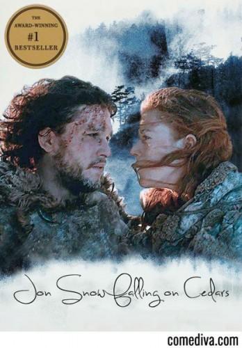 Jon-Snow-Falling-on-Cedars