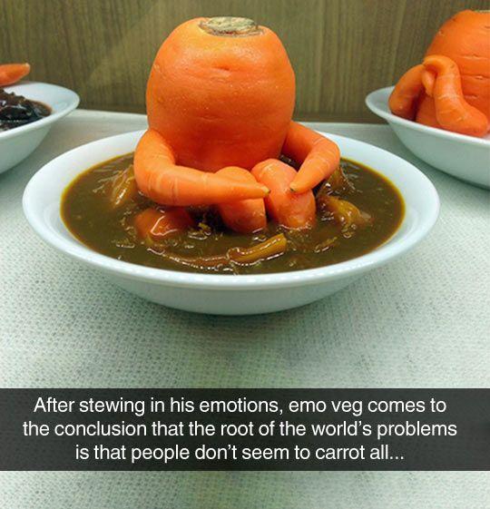 Carrot Pun Jokes Veggie Puns Carrots