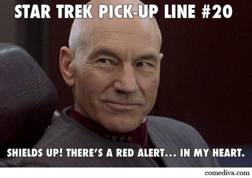 Star Trek Pick-Up Lines