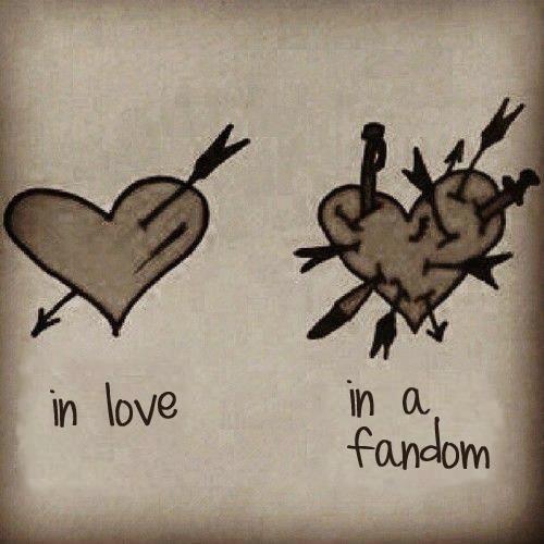love vs fandom