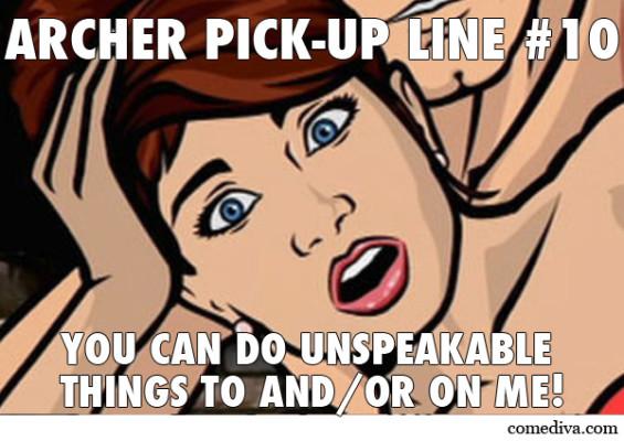 Archer Pick-Up Line