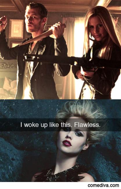 If The Originals Had Snapchat