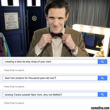 Doctor Who Search History