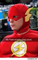 SheldonFlashSnapChat