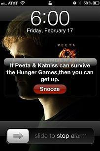 Hunger Games alarm