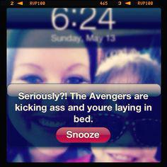 Avengers alarm