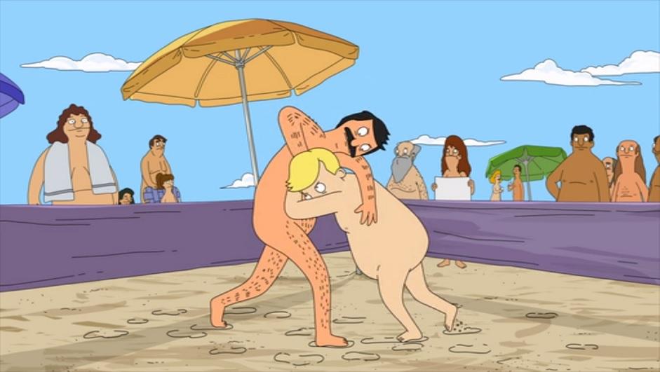 futurama hot volleyball nude beach