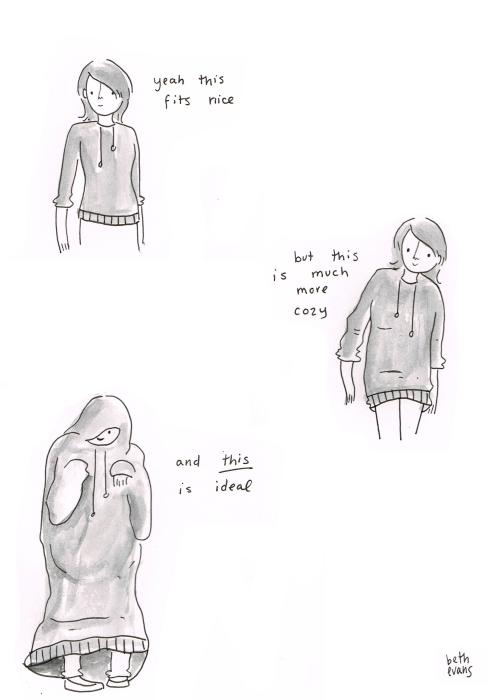 ideal hoodie - Beth Evans